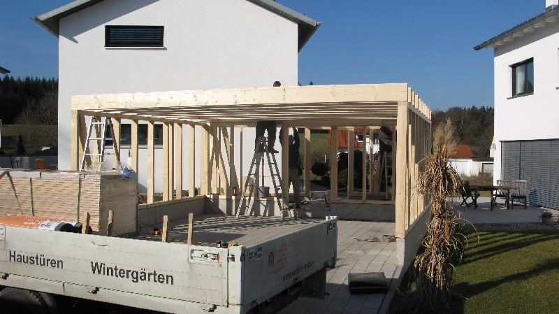 CARPORT von Wachter Holz :: Fensterbau, Wintergarten ...