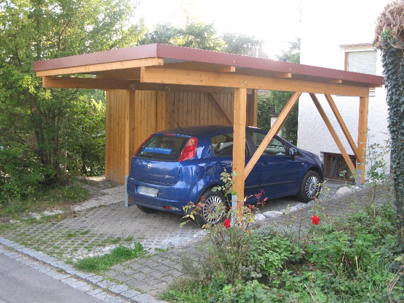 Carport von wachter holz fensterbau wintergarten gartenhaus