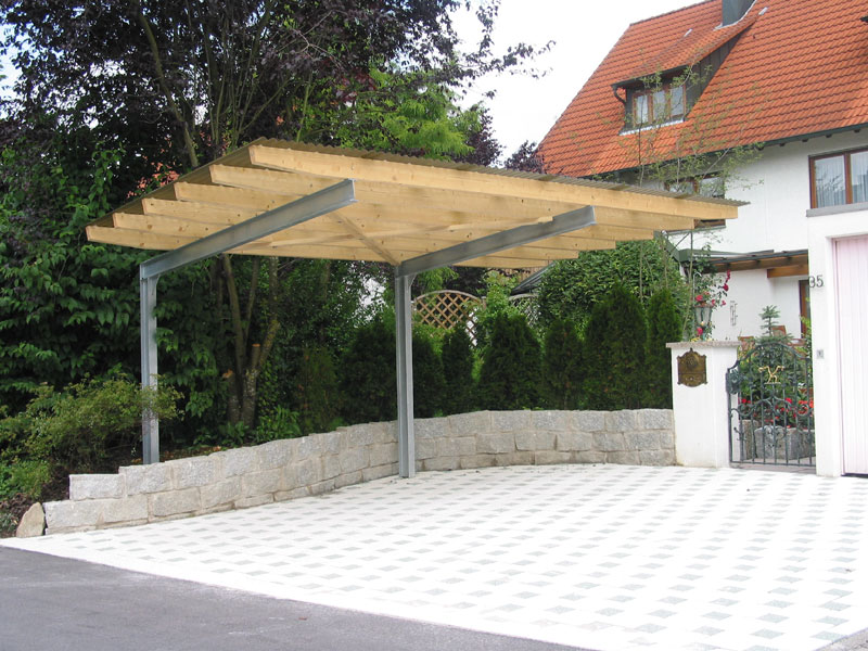 design carport holz carport garage best carports garages images on pinterest than elegant holz. Black Bedroom Furniture Sets. Home Design Ideas