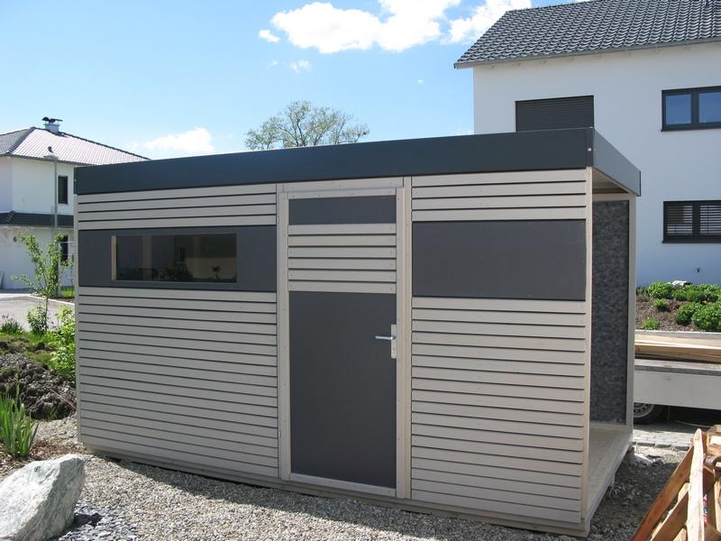 News - Modernes gartenhaus flachdach ...