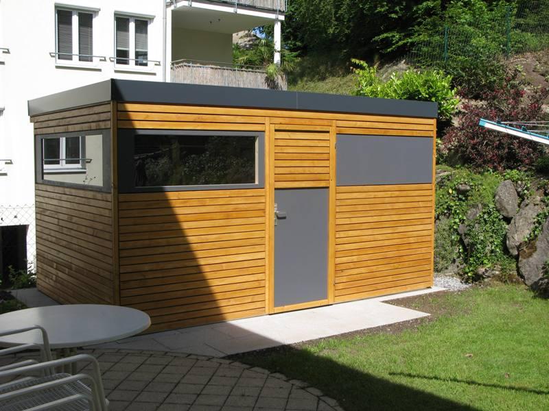 Gartenh user von wachter holz fensterbau wintergarten gartenhaus carport oder - Gartenhaus design modern ...
