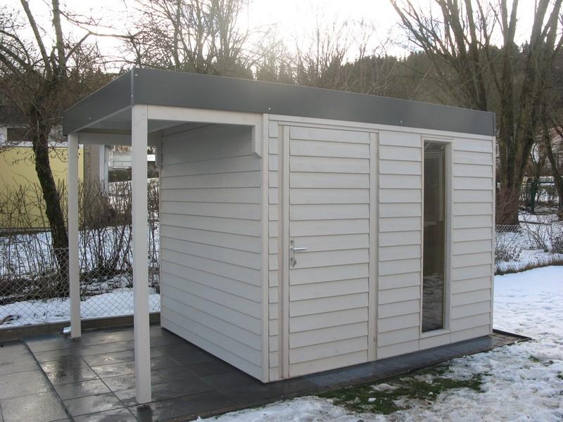 NEWS:gartenhaus modern flachdach bodensee singen kubus